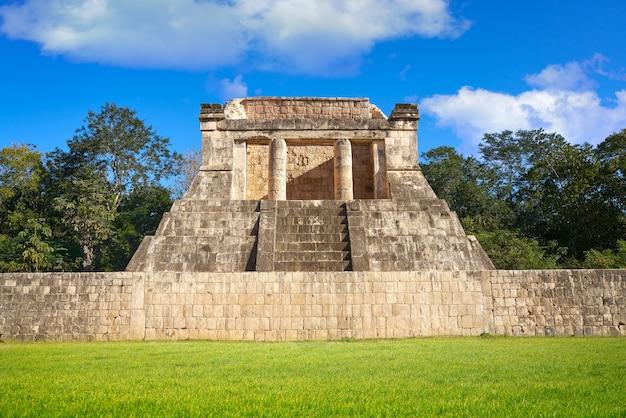 Chichen itza north temple in mexico