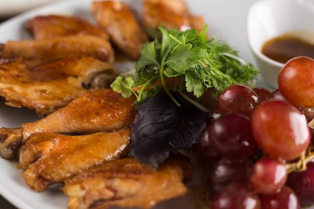 Курица, приготовленная в вине