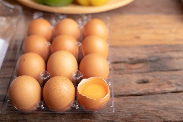 Chicken eggs are rich in high quality protein