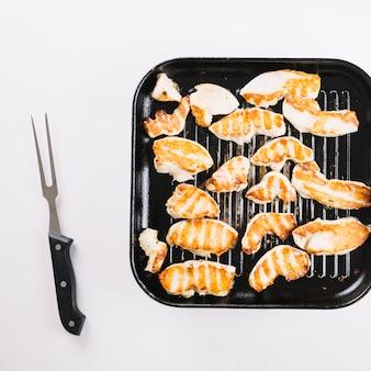 Куриное филе на выпечке