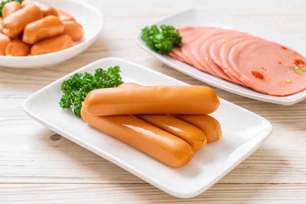 Куриная колбаса франкфуртская