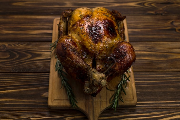 Pollo e rosmarino a bordo