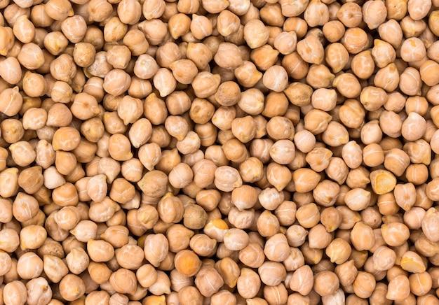 Chickpeas grain texture