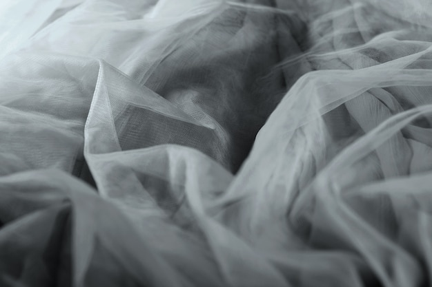 Chiffon tulle fabric textured background. pleated skirt fabric texture. closeup plisse fabric texture pattern
