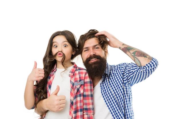 Лучшие друзья ребенка и папы дружеские отношения концепция дня отцовства и детства