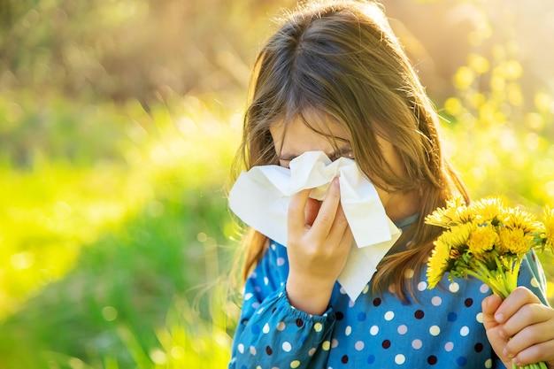 Ребенок девочка аллергия на цветы