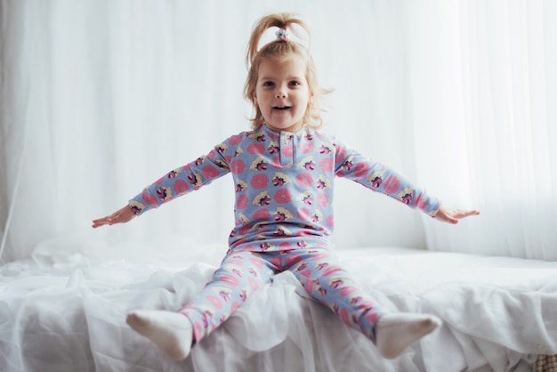 Child in pajama
