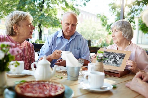 Детские воспоминания о пожилой женщине