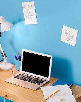 Children desk interior design