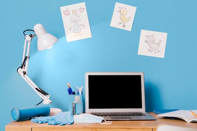 어린이 책상 인테리어 디자인