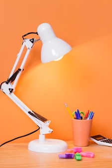 Interior design scrivania per bambini