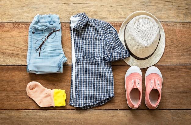子供ファッション服セット Premium写真