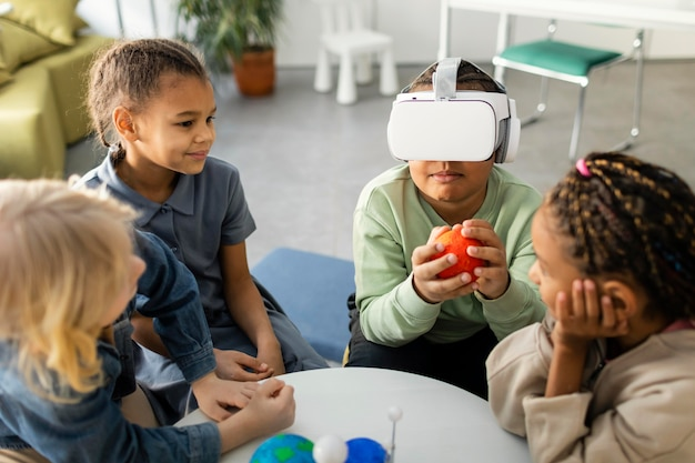 Дети узнают о вселенной