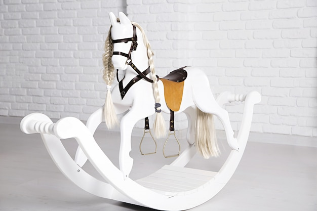 Children's horse swing