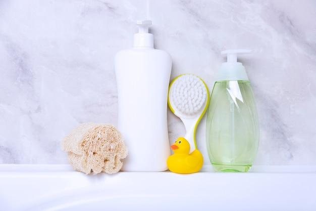 子供の衛生製品のコンセプト