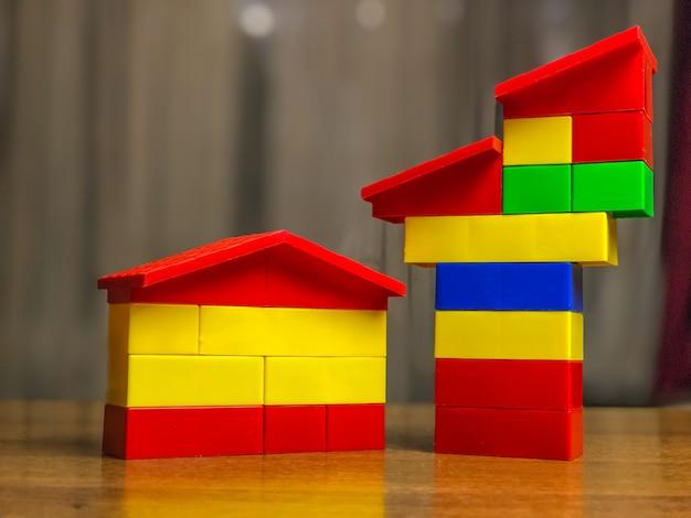 Children's lego set, different colors. children's game