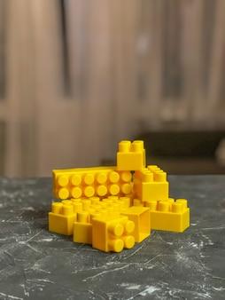 Children's lego set, different colors . children's game