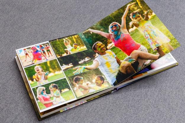 Детская фотокнига, летние каникулы