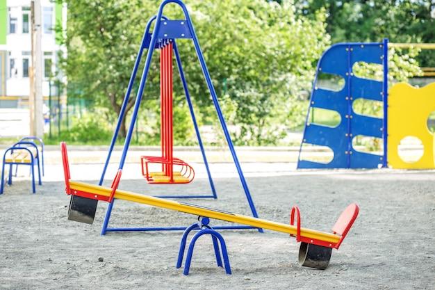 Детская площадка в школе