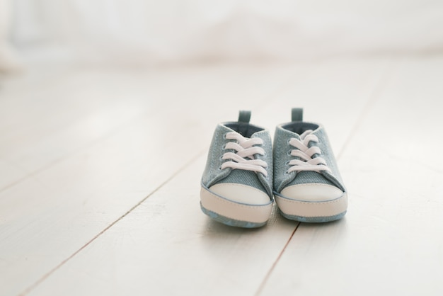 Children's shoes, denim sneakers for baby