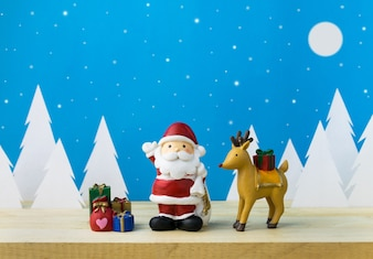 Children toys for christmas decoration