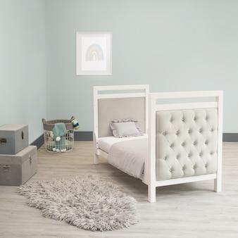 Детская кровать детская кроватка бархат детская комната