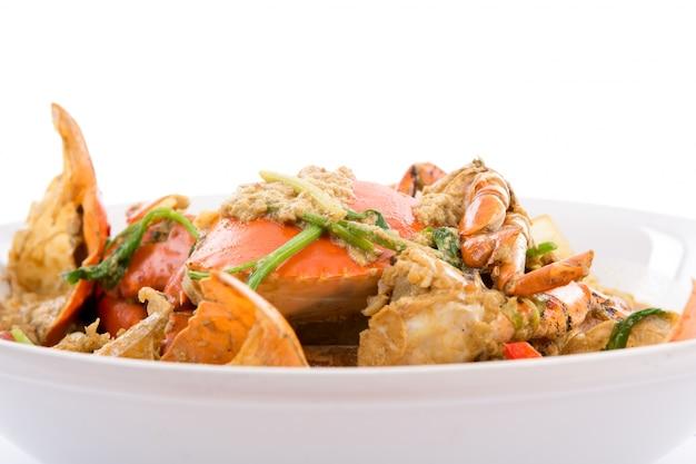 Chili crabs