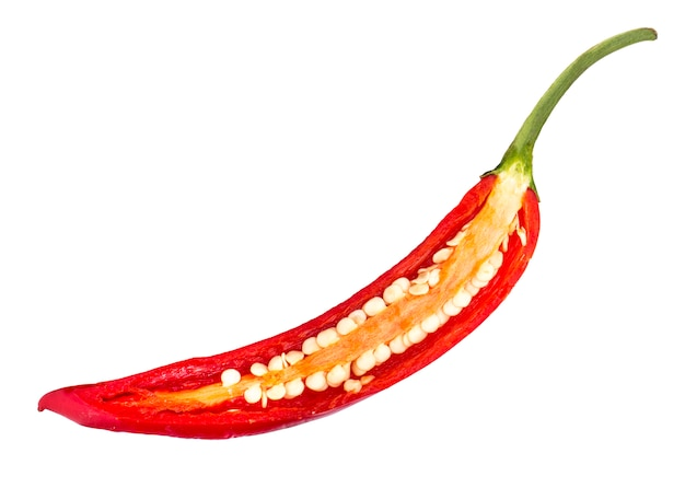 Chili pepper slice