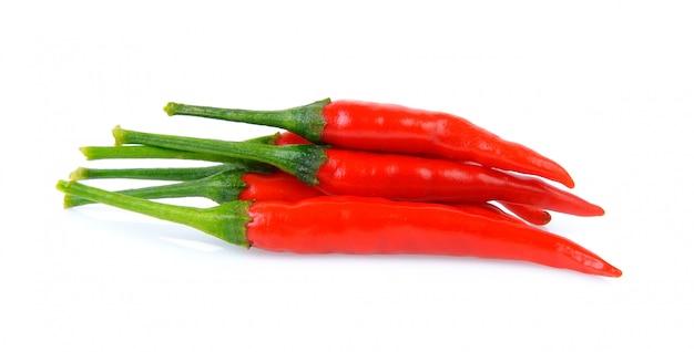 Chili on white