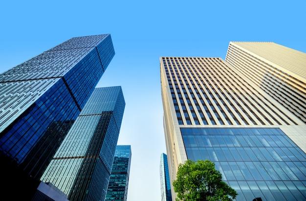 中国重慶の高層ビル