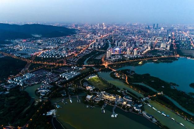 The china city night