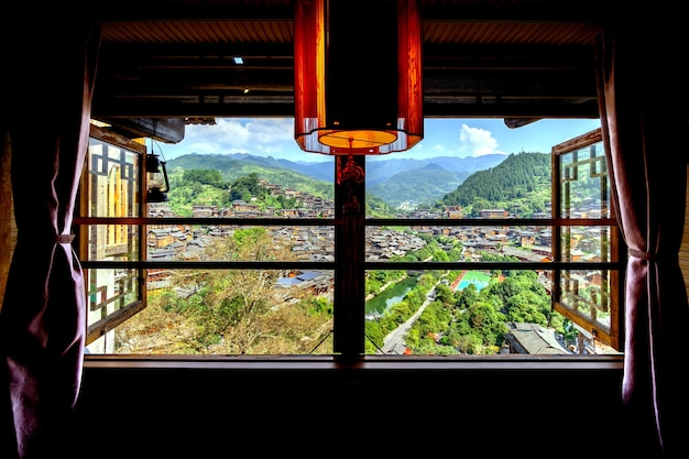 중국 guizhou xijiang miao village