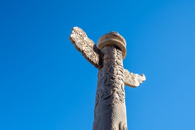중국 huabiao 석조 기둥