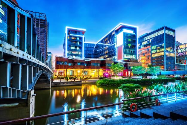 China ningbo cityscape
