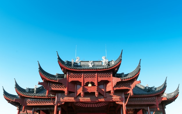 Chinese ancient buildings of local