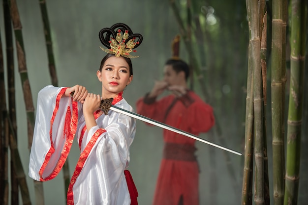 Chinese ancient costume