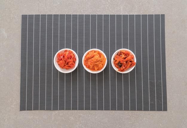 배추, 오징어, 무김치