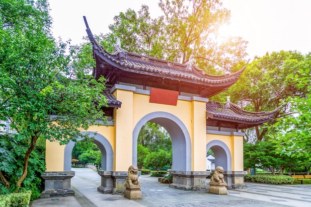 Chinese classical architectural gardens