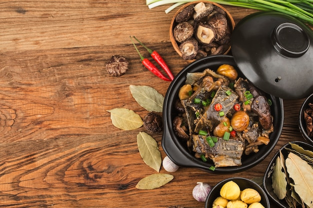 Китайская кухня: тушеная черепаха из каштана