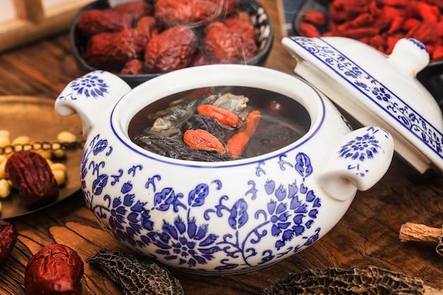 Китайская кухня: суп из сморчков и тушеной черепахи