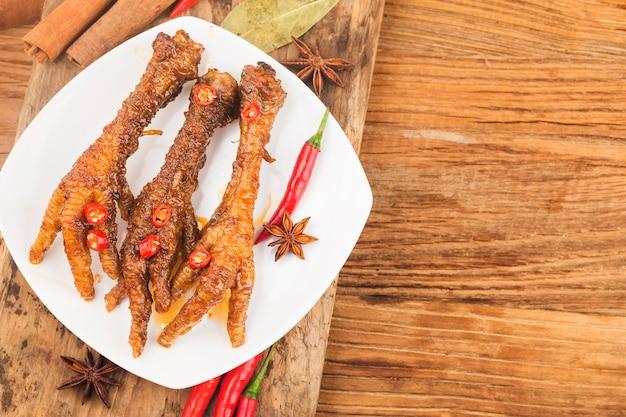 중국식 딤섬 닭발
