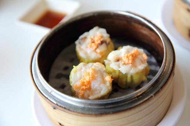 중국식 딤섬 새우만두, 중화요리