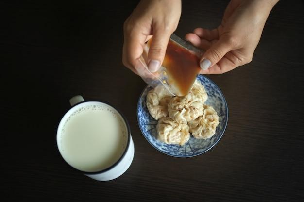 Chinese dim sum shuma