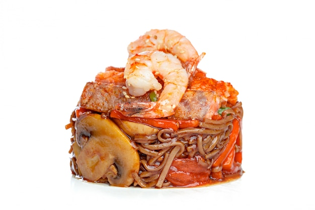 Chinese fast-food from wok