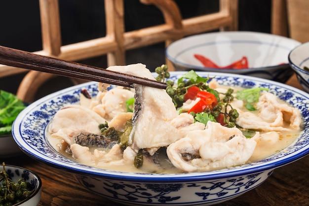 中華料理:おいしい漬物 Premium写真