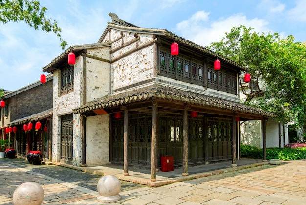 Chinese historical customs town