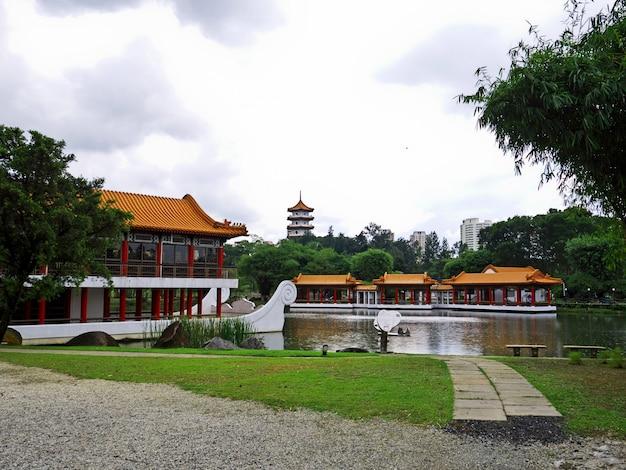 Premium Photo Chinese And Japanese Gardens Singapore