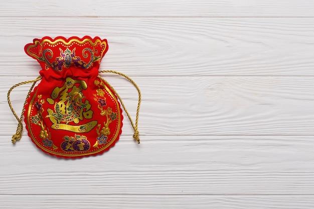 Chinese money bag