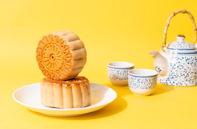 中秋節の中国の月餅