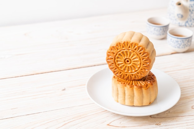 Chinese moon cake for mid-autumn festival
